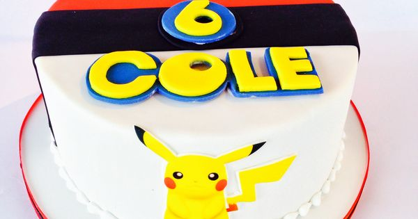 Pokemon Childrens Birthday Cartoon Pikachu Birthday Cakes Pinterest Birthday Cartoon