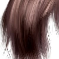 Making Realistic Hair In Photoshop This Is A Fairly Easy Tutorial I Still Prefer The Photo Realistic Ve Photoshop How To Draw Hair Digital Painting Tutorials