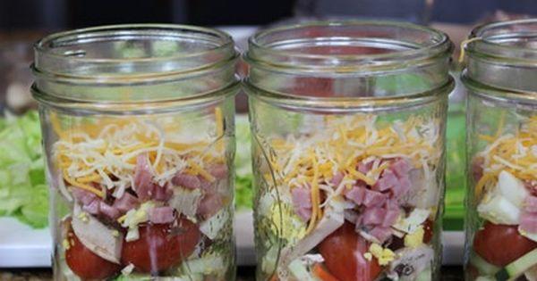 Mason Jar Salads - lasts 7-10days??