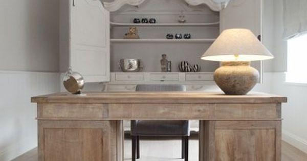 33 crazy cool home office inspirations desks for Bieke vanhoutte interieur