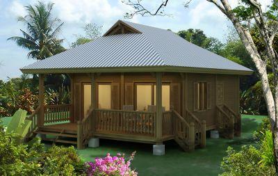 Tropical Style De Vie Maison En Kits French Polynesia
