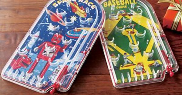 Vintage Toys And Games : Handheld pinball games blasts from the past