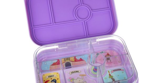 yumbox original bento lunchbox lavender available in nz from. Black Bedroom Furniture Sets. Home Design Ideas