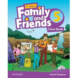 Family And Friends 5 Class Book 2nd Edition With Images Class Book
