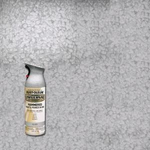 Rust Oleum Universal 12 Oz All Surface Hammered Silver Spray Paint And Primer In 1 261406 At The Home Depot Mobile Silver Spray Paint Silver Spray Rustoleum