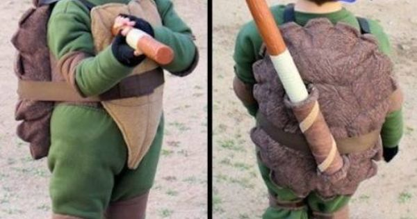 Teenage Mutant Ninja Turtles Costume (TMNT) Donatello kids costume. @Zach Herbert I
