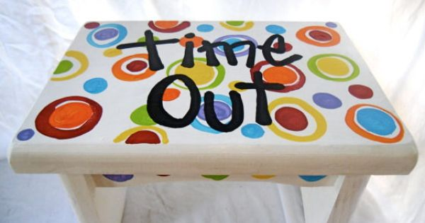 Time Out Stool How Cute My 3 Sons Pinterest Stools