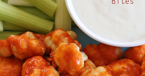 Spicy Buffalo Cauliflower Bites - for vegans and carnivores alike, these are