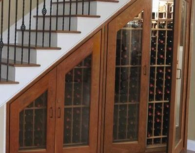 great space for wine, china cabinet, coat closet, or even an indoor