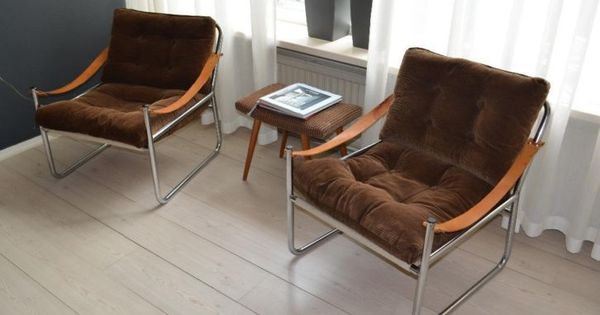 zeer unieke tubular vintage safari fauteuils - Bieden : Marktplaats ...