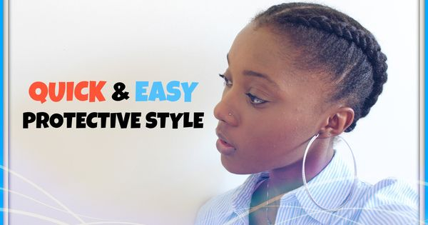 easy protective styles hair how to amp easy protective style on 9535