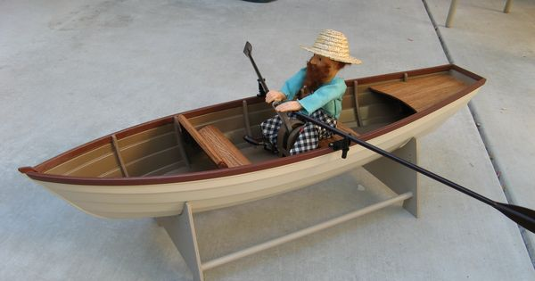 Graupner Tina Row Boat Scale Model Rc Boats Pinterest