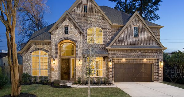 Perry Homes Oak Forest Estate Series Design 4342