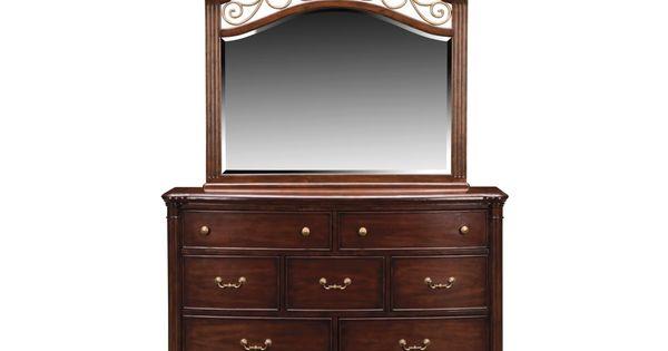 Derbyshire Cherry Dresser Mirror American Signature Furniture 799 Kid S Room Pinterest