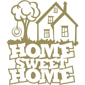 Home Sweet Home Scroll Saw Patterns Silhouette Silhouette Design