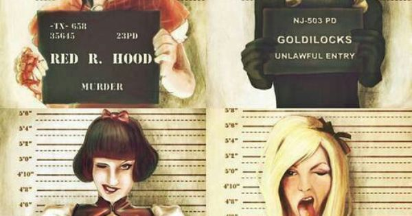 Fairytale Mugshots Disney Bad Girls And Disney Princess