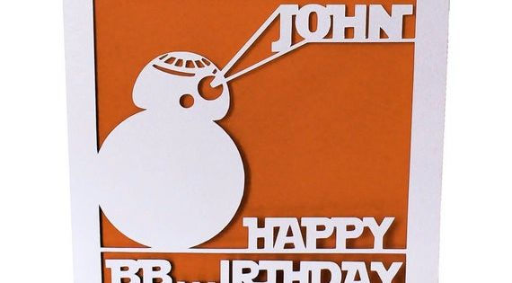 Pin By Jan On All Things Cricut And Other Cards In 2021 Star Wars Cards Starwars Birthday Card Birthday Cards