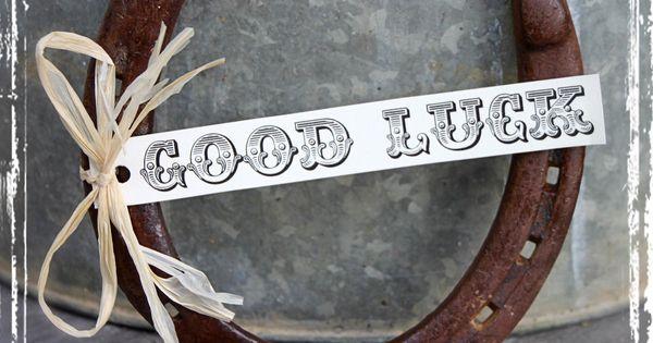 Western Wedding Gift Ideas: Good Luck Horseshoe