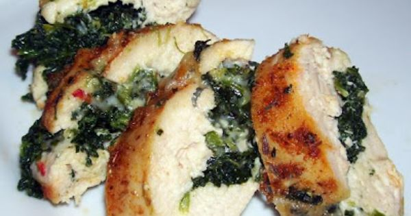 Cajun Chicken Stuffed with Pepper Jack Cheese & Spinach- MY REVIEW: amazeballlls!