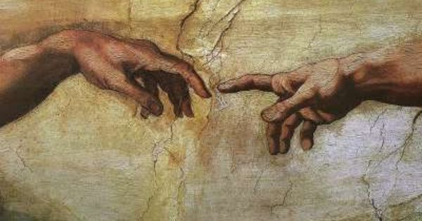 Michael Angelo The Hand Of God Goruntuler Ile Ronesans