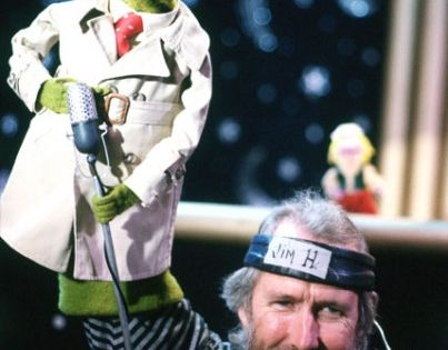Jim Henson and Kermit the Frog (from Sesame Street News). We Love
