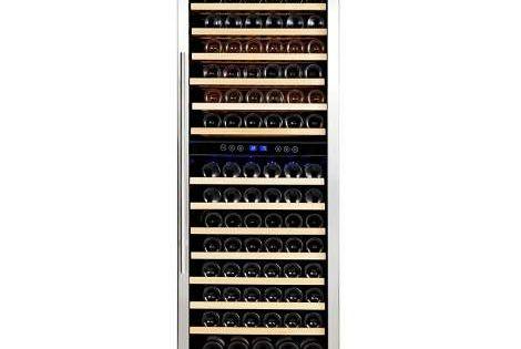 24 15 9 Cu Ft 157 Bottle Built In Wine Cooler Wine Refrigerator Built In Wine Cooler Wine Cooler