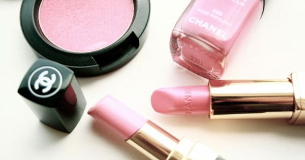 soft pink make-up