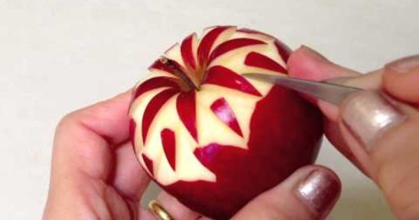 2013 Simple Apple Carving - Intermediate Lesson 2 by ...