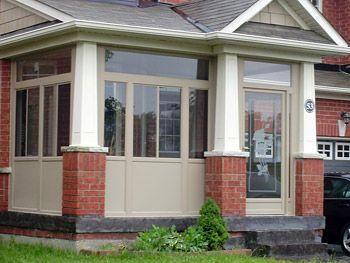 Front Porch Glass Enclosure Porch Enclosure Options Toronto And