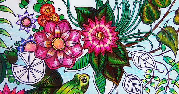 Jardin Secreto libro Johanna Basford (Maria Martinez Dukan)