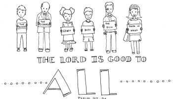 This Simple Coloring Page Shows The Name Jesus Spelled Out