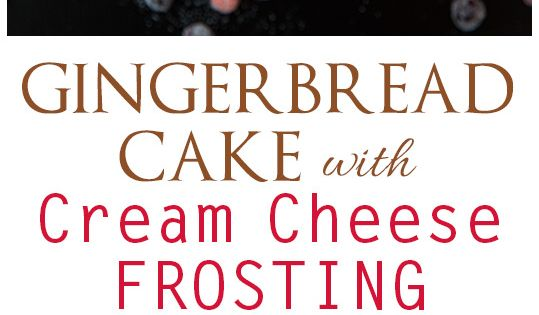 Gingerbread cake, Cream cheese frosting and Gingerbread on Pinterest
