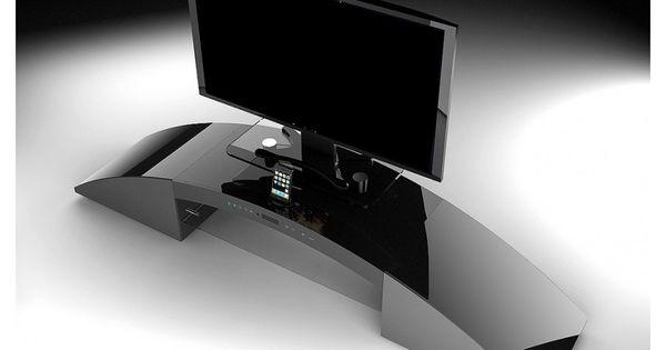 Meubles Tv Vente Unique Meuble Tv Home Cinema Integre Decibel Prix 499 00 Euros Iziva Com Meuble Tv Design Meuble Tv Home Cinema Petit Meuble Tv