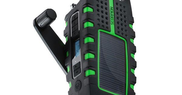 Eton Scorpion - flashlight + digital radio + usb phone charger. use