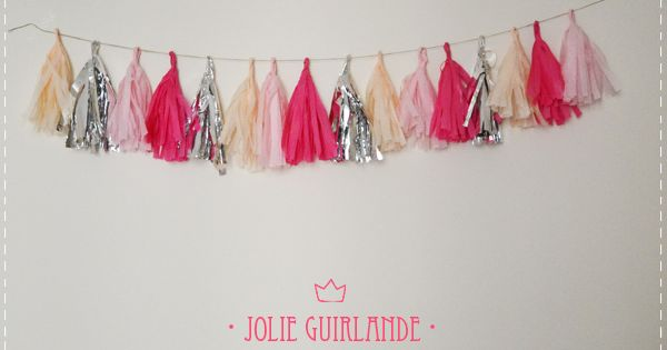 Diy Jolie Guirlande Diy Mariage Queen For A Day