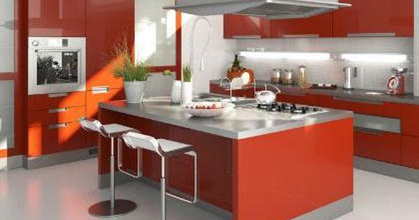 Cocinas con islas modernas cocinas modernas con isla for Cocinas con islas en medio
