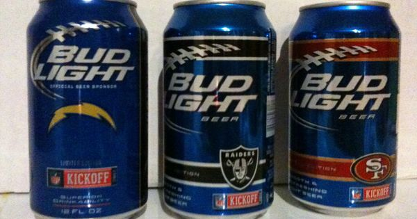 Bud Light Limited Edition Beer Cans 2012 San Diego