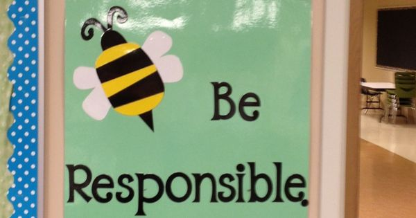 The 3 Bee Rules Be Respectful Be Responsible Be Ready