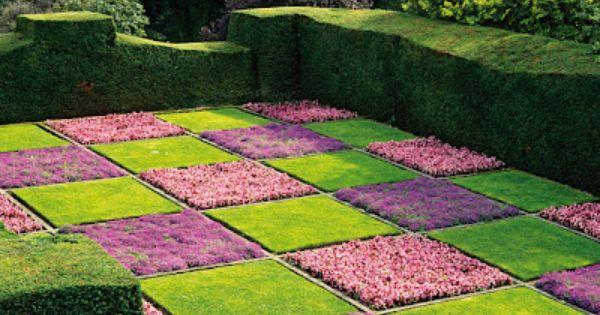 Checkerboard yard landscaping ideas pinterest more for Checkerboard garden designs