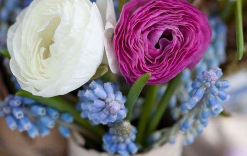 flowers in an old crock