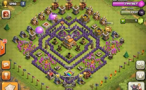 Clash Of Clans Top 5 Th7 Base Builds Www Clasherlab Com Visit For Website For Laster Clash Of Clans Content And Updates Cl Clash Of Clans Clan Trophy Base