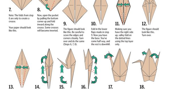 How To Make An Origami Crane Step-by-step Instructions Cómo Hacer