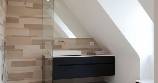 Bathrooms pinterest discover more ideas about attic - Badkamer mansard ...