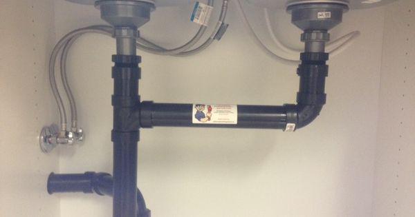 Double Undermount Sink Drain Installation With Dishwasher