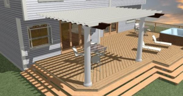 Customizing Deck Planking And Framing Chief Architect Knowledge Base Building A Deck Deck Deck Framing