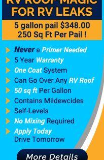 Liquid Roof Solution For Rv Roof Leaks Repair Epdm Coatings
