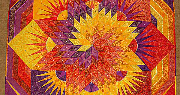 Spiral Lone Star Quilt Pattern Google Search Star Of