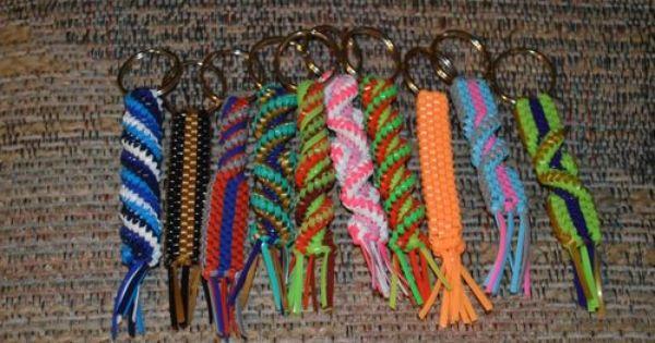 10 Handmade Napoleon Dynamite boondoggle gimp plastic lace ...