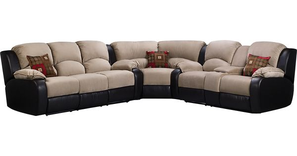 Tyson 3 Piece Mocha Sectional (TYSON3PK3) | The Brick | Dining Room | Pinterest | Bricks Accent pieces and Catalog  sc 1 st  Pinterest : sectionals the brick - Sectionals, Sofas & Couches