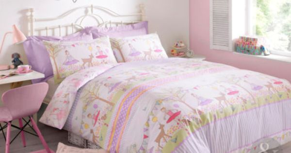 Details About Tea Party Girls Duvet Cover Darcey Bussell